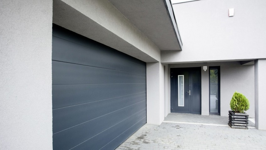 Pose de porte de garage habitation