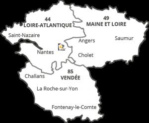 Intervention dans le grand Ouest, Clisson, entre Nantes et Cholet